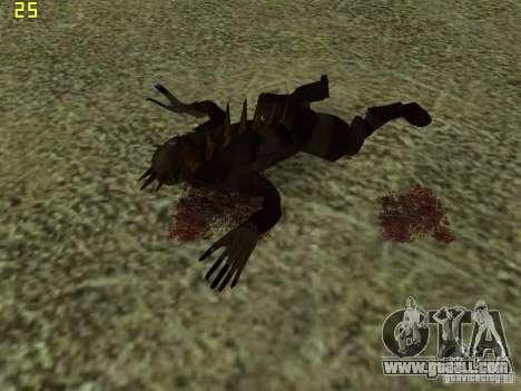 Chupacabra for GTA San Andreas ninth screenshot