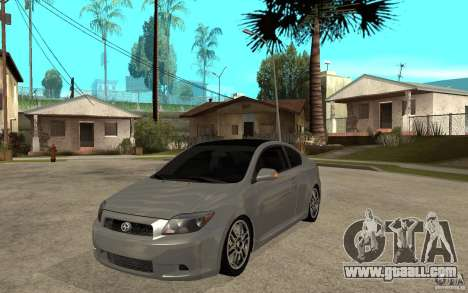 Scion tC - Stock for GTA San Andreas