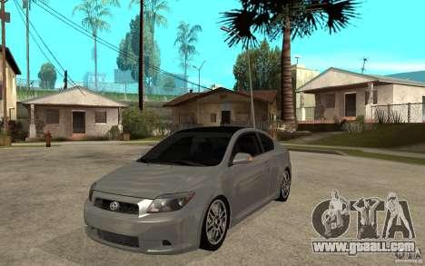Scion tC - Stock for GTA San Andreas