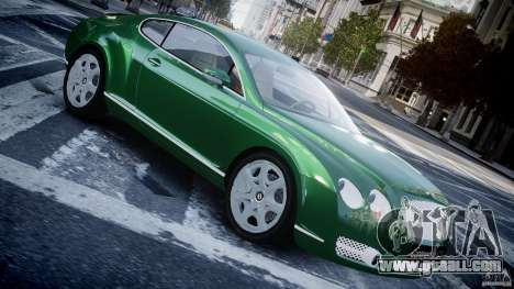 Bentley Continental GT for GTA 4 left view