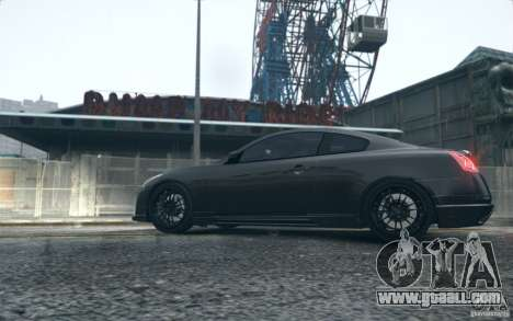Infiniti G37 Coupe Carbon Edition v1.0 for GTA 4 back left view