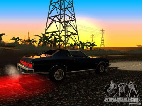 Ford Gran Torino 1975 for GTA San Andreas right view