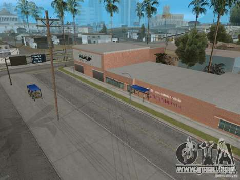 New Groove Street for GTA San Andreas eighth screenshot
