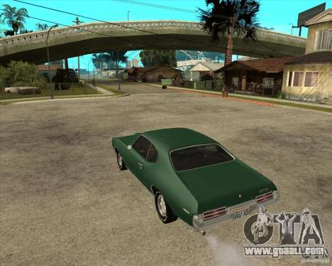 Pontiac GTO 1969 for GTA San Andreas left view