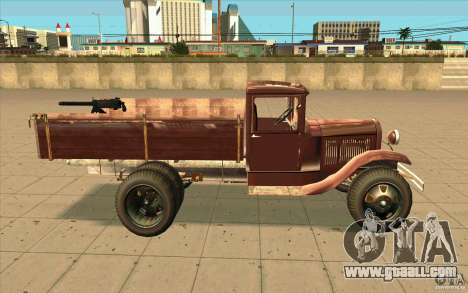 GAZ-AA for GTA San Andreas left view