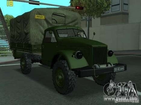 GAS 63A for GTA San Andreas