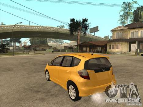 Honda Jazz (Fit) for GTA San Andreas back left view