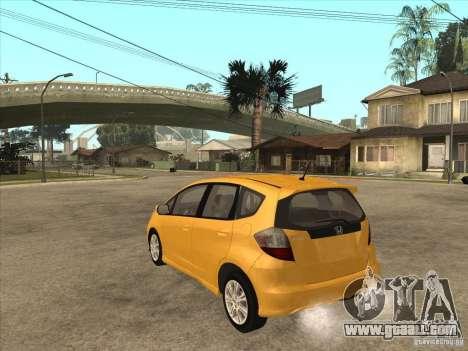 Honda Jazz (Fit) for GTA San Andreas