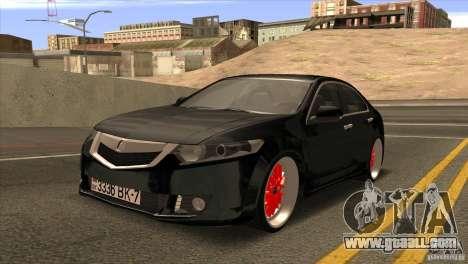 Acura TSX Doxy for GTA San Andreas