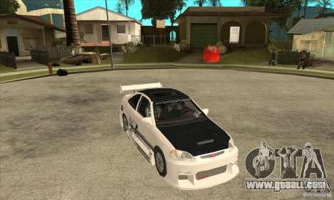 Honda Civic Tuning Tunable for GTA San Andreas side view