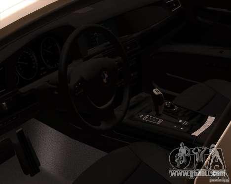 BMW 750Li 2010 for GTA San Andreas side view