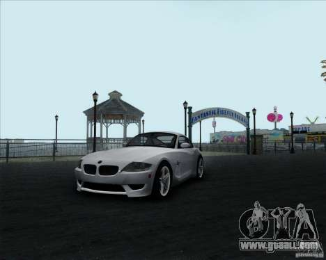 BMW Z4M for GTA San Andreas