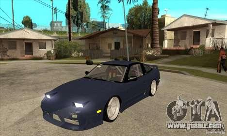 Nissan 180SX Turbo JDM for GTA San Andreas