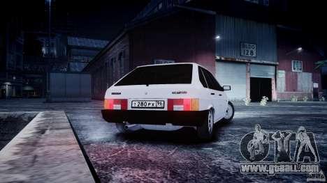 VAZ 2109 for GTA 4 left view