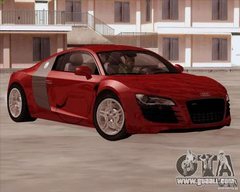Audi R8 Production for GTA San Andreas side view