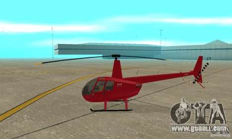 Robinson R44 Raven II NC 1.0 Skin 1 for GTA San Andreas back left view