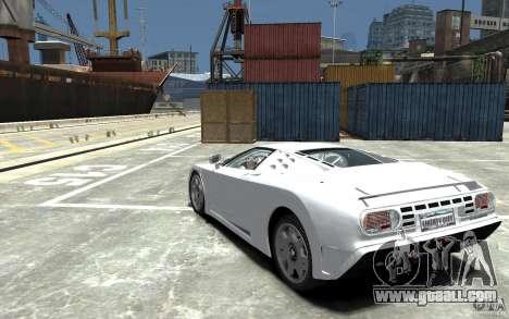 Bugatti EB110 Super Sport for GTA 4 back left view