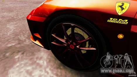 Ferrari 430 Spyder v1.5 for GTA 4 back view