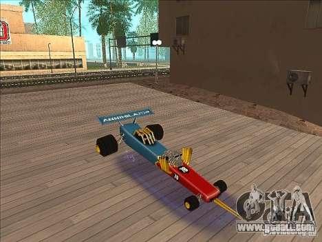 Dragg car for GTA San Andreas