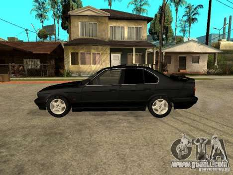BMW e34 525 for GTA San Andreas left view
