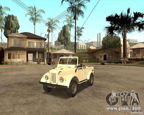 GAZ 69A for GTA San Andreas