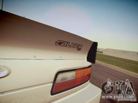 Nissan Silvia S13 Daijiro Yoshihara for GTA San Andreas back view
