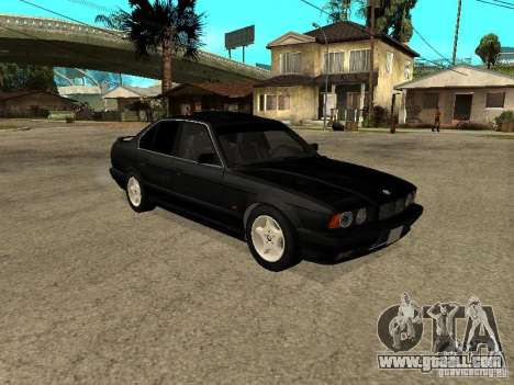 BMW e34 525 for GTA San Andreas right view