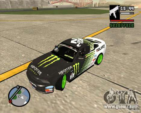Ford Mustang GT 2010 Vaughn Gittin Jr for GTA San Andreas right view