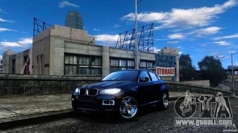 BMW X6 2013 for GTA 4