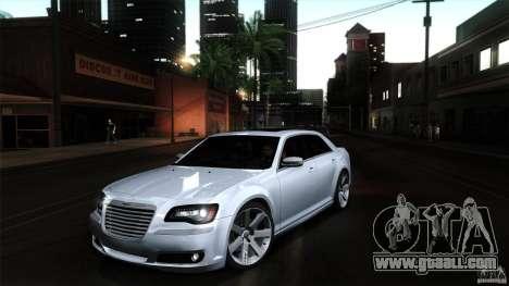 Chrysler 300C V8 Hemi Sedan 2011 for GTA San Andreas interior