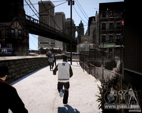 Niko - Cj for GTA 4 fifth screenshot
