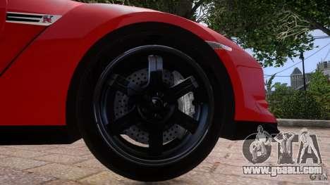 Nissan GTR R35 v1.0 for GTA 4 side view