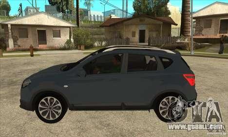 Nissan Qashqai 2011 for GTA San Andreas left view