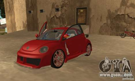 Volkswagen Bettle Tuning for GTA San Andreas left view
