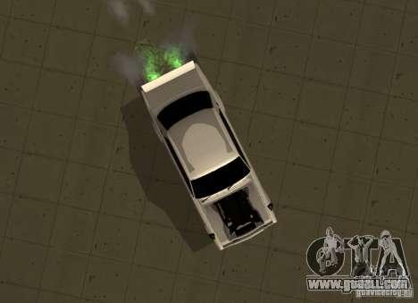 Nissan Skyline 2000 GT-R for GTA San Andreas back left view