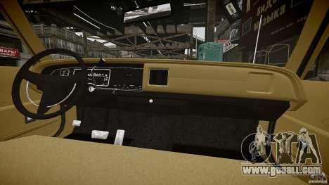 Dodge Monaco 1974 stok rims for GTA 4 bottom view