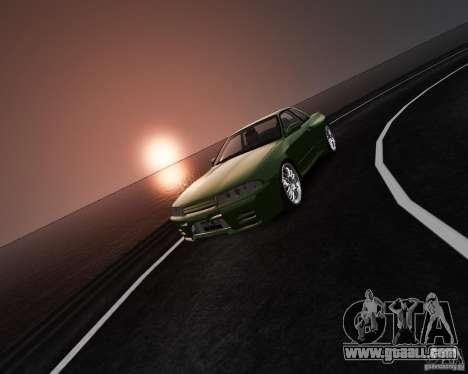 Nissan Skyline R32 GTS-t Veilside for GTA 4 inner view