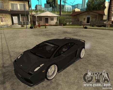 Lamborghini Gallardo HAMANN Tuning for GTA San Andreas
