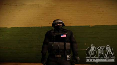 S.W.A.T. for GTA San Andreas