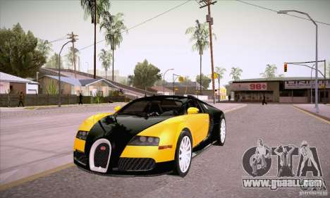 Bugatti Veyron 16.4 EB 2006 for GTA San Andreas