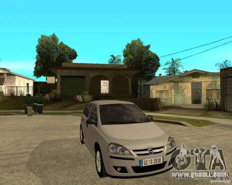Opel Corsa C for GTA San Andreas right view