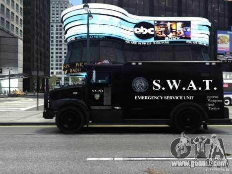 SWAT - NYPD Enforcer V1.1 for GTA 4 left view