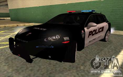 Porsche Cayenne Turbo 958 Seacrest Police for GTA San Andreas