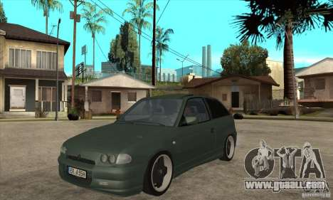 Opel Astra GSI 1993 Custom for GTA San Andreas