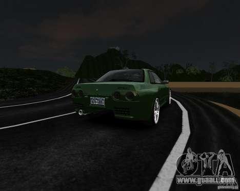 Nissan Skyline R32 GTS-t Veilside for GTA 4 back view