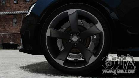 Audi RS5 2012 for GTA 4 inner view