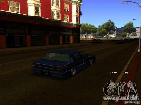 Willard Drift Style for GTA San Andreas back left view