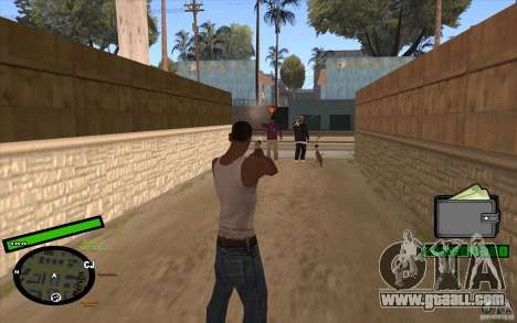 New HUD for GTA San Andreas second screenshot