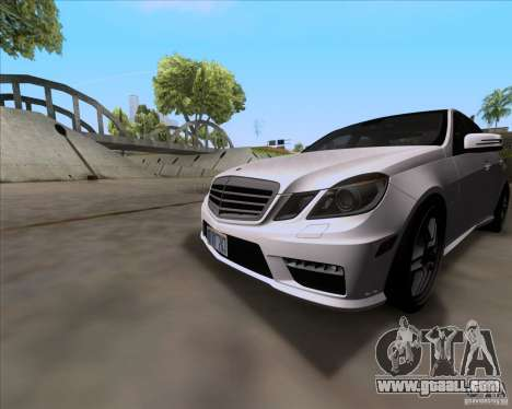 Mercedes-Benz E63 AMG V12 TT Black Revel for GTA San Andreas