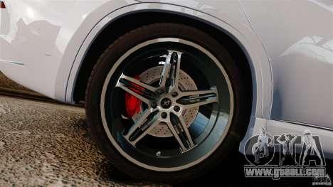 BMW X6 Hamann Evo22 no Carbon for GTA 4 inner view